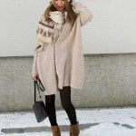 Pretty-Winter-Outfit-Idea-with-A-Hat